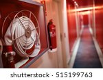 fire extinguisher and fire hose ... | Shutterstock . vector #515199763