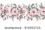 isolated seamless pattern... | Shutterstock . vector #515201713