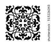 vintage square ornament for... | Shutterstock .eps vector #515226343