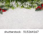 christmas greeting card.... | Shutterstock . vector #515264167