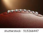 rugby ball  closeup | Shutterstock . vector #515266447