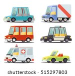transport car vehicle icon... | Shutterstock .eps vector #515297803
