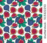 beautiful seamless pattern of... | Shutterstock .eps vector #515322253