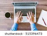 businessman working  on a...   Shutterstock . vector #515396473