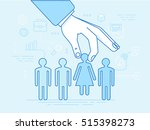 vector illustration in modern... | Shutterstock .eps vector #515398273