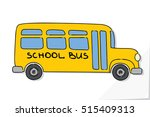 school bus old and funny...   Shutterstock .eps vector #515409313