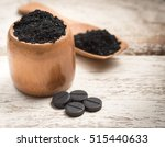 activated carbon on white | Shutterstock . vector #515440633