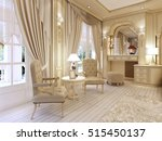 dressing table and two chairs... | Shutterstock . vector #515450137