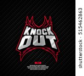modern professional knockout... | Shutterstock .eps vector #515462863