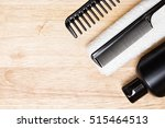 hair care and styling... | Shutterstock . vector #515464513