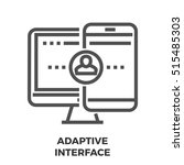 adaptive interface thin line ...