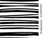 black and white striped grunge... | Shutterstock .eps vector #515495437