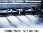 print process in a modern... | Shutterstock . vector #515501683