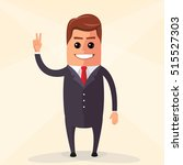 vector flat design illustration.... | Shutterstock .eps vector #515527303
