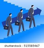 teamwork business concept.... | Shutterstock .eps vector #515585467
