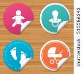round stickers or website... | Shutterstock .eps vector #515586343