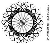 circular geometric element ... | Shutterstock .eps vector #515606617