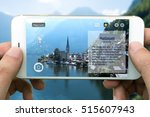 augmented reality marketing and ... | Shutterstock . vector #515607943