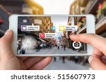 augmented reality marketing... | Shutterstock . vector #515607973