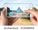 augmented reality marketing and ... | Shutterstock . vector #515608003