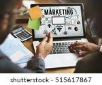 marketing business strategy...   Shutterstock . vector #515617867