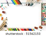 frame pictures isolated on... | Shutterstock . vector #51562153