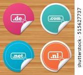 round stickers or website... | Shutterstock .eps vector #515627737