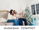 christmas  holidays  technology ... | Shutterstock . vector #515647027