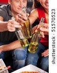 friends having a nice little... | Shutterstock . vector #51570523