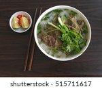 pho   traditional vietnamese... | Shutterstock . vector #515711617