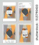 abstract vector layout... | Shutterstock .eps vector #515790403