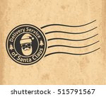 postal stamp of the delivery... | Shutterstock .eps vector #515791567