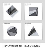 abstract vector layout... | Shutterstock .eps vector #515795287
