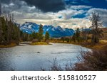 salmon river lower stanley... | Shutterstock . vector #515810527