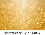 Abstract Gold Glitter Sparkle...
