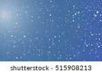 vector background with flying... | Shutterstock .eps vector #515908213