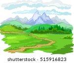 landscape | Shutterstock .eps vector #515916823