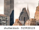 amazing manhattan skyline from... | Shutterstock . vector #515920123