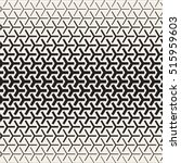 triangular shapes halftone... | Shutterstock .eps vector #515959603