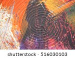 abstract oil painting on canvas ... | Shutterstock . vector #516030103