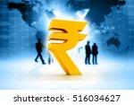 indian rupee icon.3d...   Shutterstock . vector #516034627