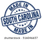 made in south carolina. stamp.   Shutterstock .eps vector #516046657