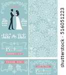 wedding invitation set.winter...