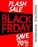 black friday  flash sale  save...   Shutterstock .eps vector #516156403