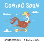 vector character design with a... | Shutterstock .eps vector #516172123