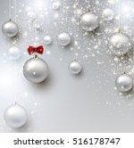 elegant shiny christmas...   Shutterstock .eps vector #516178747