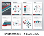 infographic vector set....   Shutterstock .eps vector #516212227