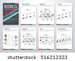 infographic vector set.... | Shutterstock .eps vector #516212323