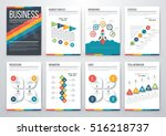 infographic vector set.... | Shutterstock .eps vector #516218737