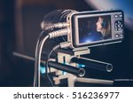 video recording production.... | Shutterstock . vector #516236977